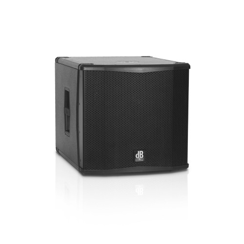 "dB Technologies Sub 15H 15"" Hybrid Design 1000 watt  subwoofer with cover"
