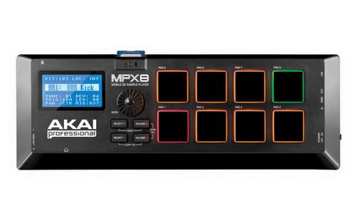 Akai MPX8 Mobile SD sample player