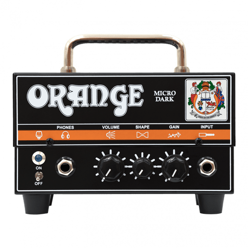 Orange Amplifiers Micro Dark 20 Watt Tube Hybrid Amplifier guitar Head