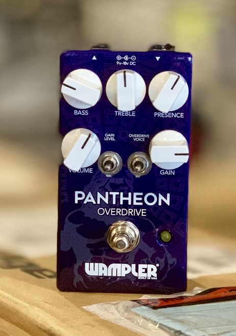 Wampler Pantheon Overdrive Guitar Pedal Store demo