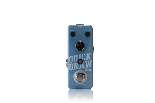Outlaw Quick Draw Delay guitar effects pedal