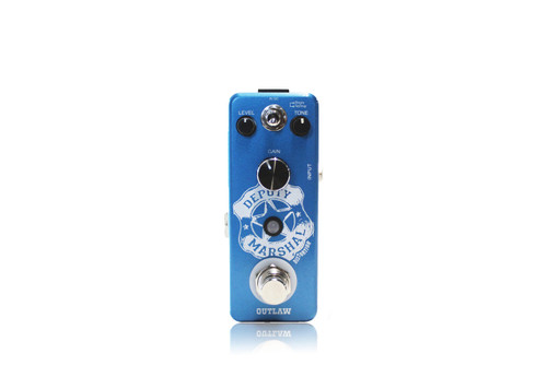 Outlaw Deputy Marshal Plexi Distortion guitar effects pedal