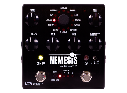 Source Audio Nemesis Delay guitar effects pedal