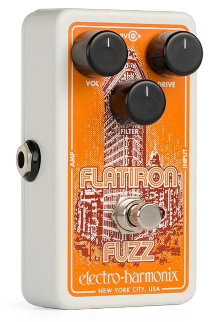 Electro-Harmonix Flatiron Fuzz Distortion guitar effects pedal