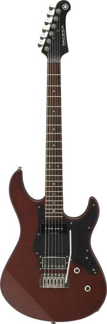 Yamaha PAC611VFMX MRTB Pacifica Electric guitar Matte Root Beer