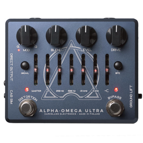 Darkglass Electronics Alpha Omega Ultra Bass Preamp pedal