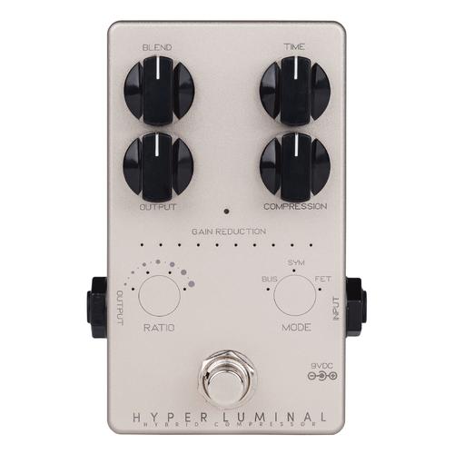 Darkglass Electronics Hyper Luminal Hybrid Compressor bass pedal