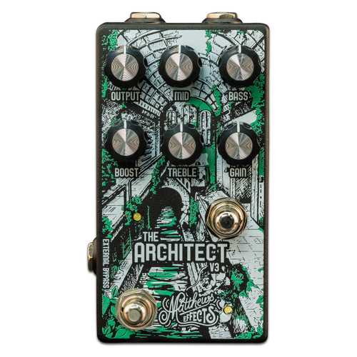Matthews Effects Architect V3 Overdrive Boost Pedal guitar pedal