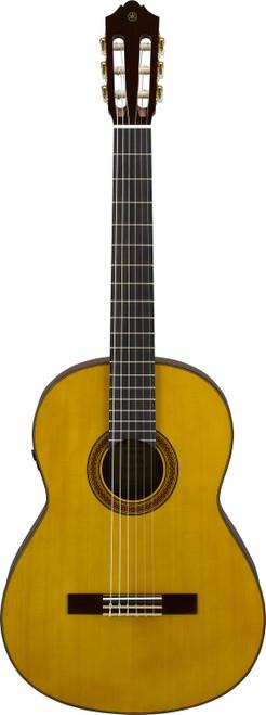 Yamaha CG-TA TransAcoustic Nylon string Natural guitar