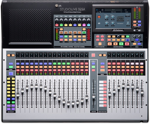 PreSonus StudioLive 32SX 32-channel digital mixer and USB audio interface