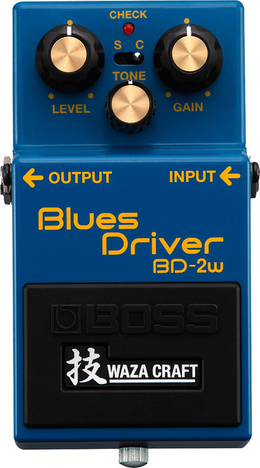 Boss Waza BD-2W Blues Driver Guitar effects pedal