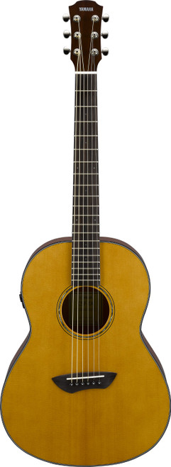 Yamaha CSF-TA Parlor Transacoustic VN Acoustic Electric Guitar with bag