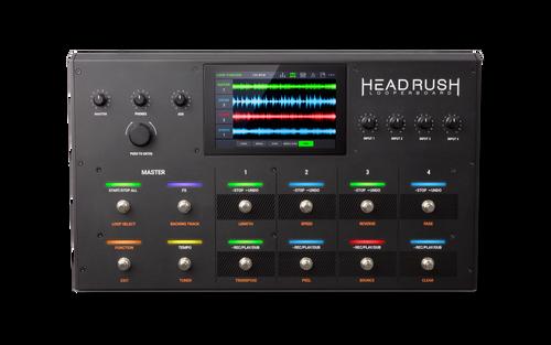 "HeadRush LooperBoard Advanced 7"" screen guitar Looper"