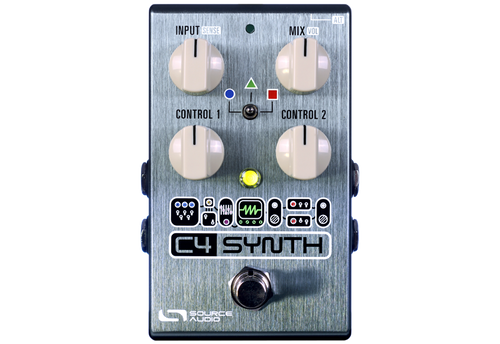 Source Audio C4 Synth synthesizer guitar bass pedal