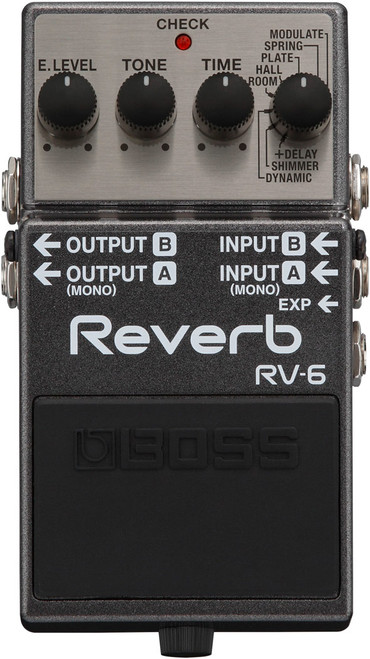 Boss RV-6 Reverb effects pedal