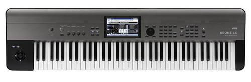 Korg Krome EX 73 note keyboard music workstation store display