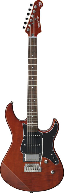 Yamaha PAC612VIIFM RTB Pacifica Root Beer electric Guitar demo model