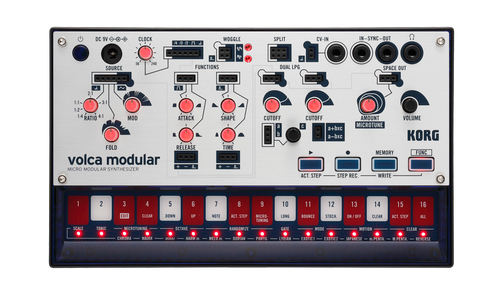 Korg Volca Modular micro synthesizer open box demo