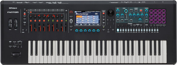 Roland FANTOM 6 Music Workstation Keyboard OB