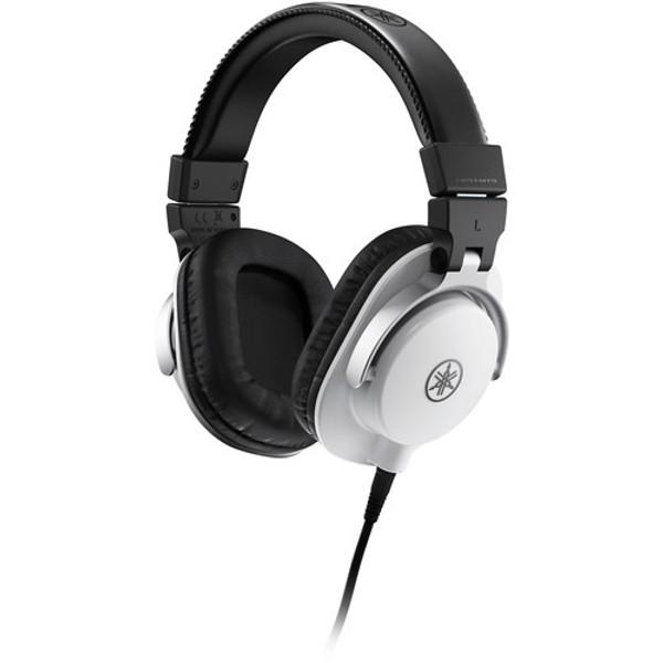 Yamaha HPH-MT5W Studio Monitor Headphones White