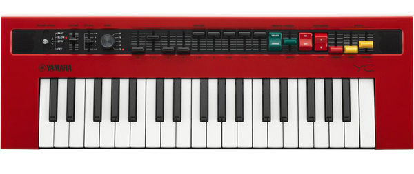 Yamaha Reface YC Mobile Mini Combo Organ Synthesizer with Built-In-Effects demo