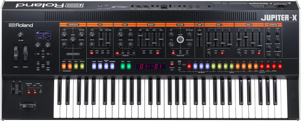 Roland Jupiter-X Synthesizer Keyboard