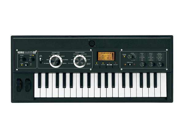 Korg microKORG XL+ synthesizer vocoder keyboard