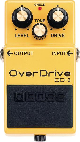 BOSS OD-3 OverDrive Guitar Pedal