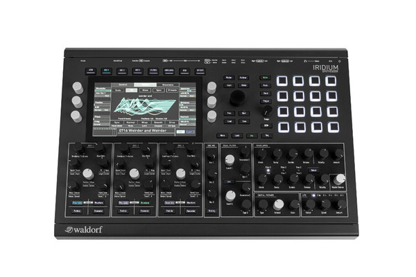 Waldorf Iridium Digital Polyphonic Desktop Synthesizer
