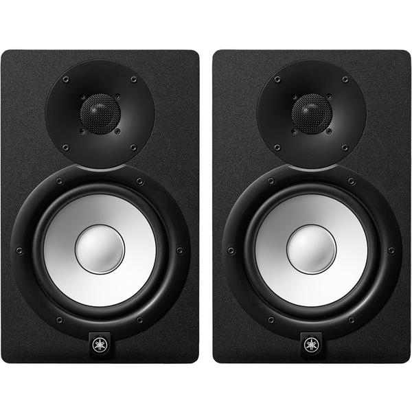 "Yamaha HS7 6.5"" Powered Studio Monitors pair Black"