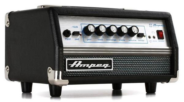 Ampeg SVT Micro VR 200-watt Classic Bass Amplifier Head