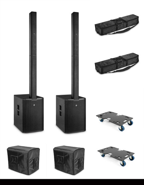 """LD Maui 44 G2 15"""" Powered Column PA system Package"""