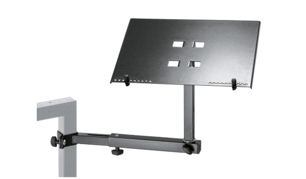 K&M 18815 Omega Laptop Shelf Keyboard Black