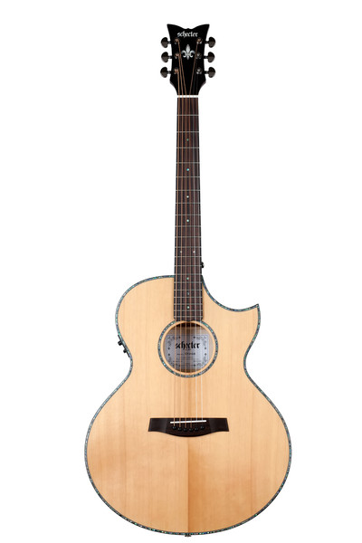 Schecter Orleans Stage Acoustic Electric Guitar 3711 Natural with case