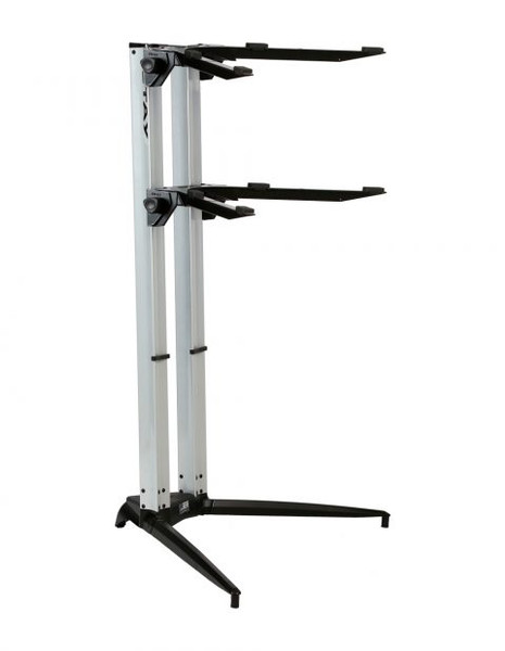 Stay 1200/02 double tier keyboard stand Silver Stay69