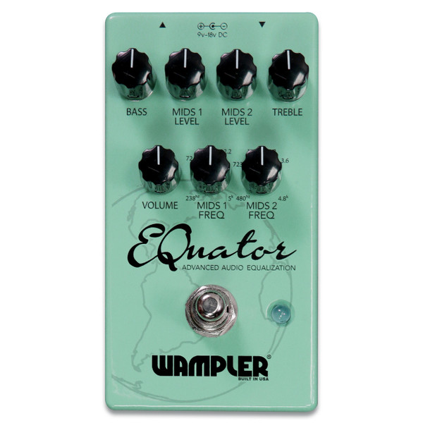 Wampler EQuator Advanced Audio Equalizer effects pedal