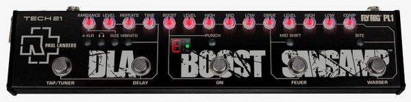 Tech 21 Paul Landers PL1 Signature Fly Rig Guitar effects pedal
