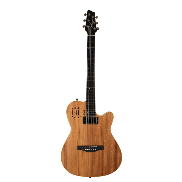 Godin A6 Ultra Koa HG SF acoustic electric guitar with bag Factory Blemished