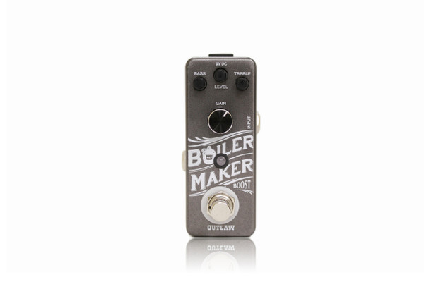 Outlaw Boilermaker Boost guitar effects pedal
