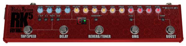 Tech 21 Richie Kotzen Signature FlyRig V2 Sansamp guitar pedal