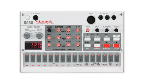 Korg Volca Sample Digital sample sequencer