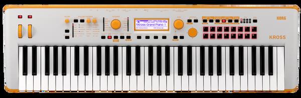 Korg Kross 2 special edition GO Gray Orange 61 key synthesizer keyboard