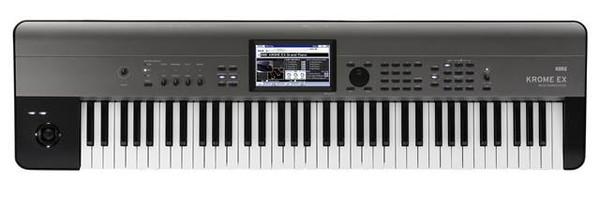 Korg Krome EX 73 note keyboard music workstation