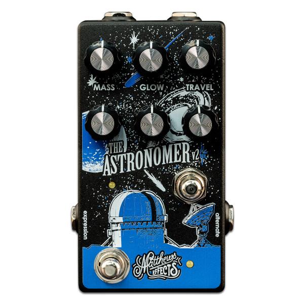 Matthews Effects Astronomer V2 3 knob reverb guitar pedal