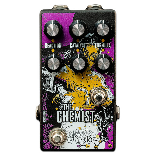 Matthews Effects Chemist V2 Multi modulation effect pedal