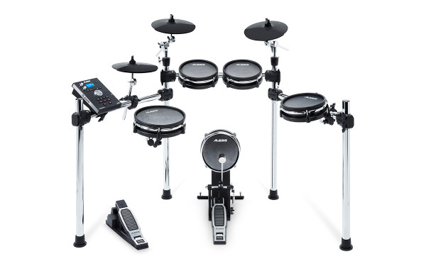 Alesis Command 8 piece Mesh Electronic Drum Kit store demo