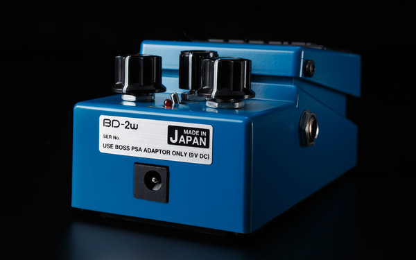 Boss Waza BD-2W Blues Driver Guitar effects pedal