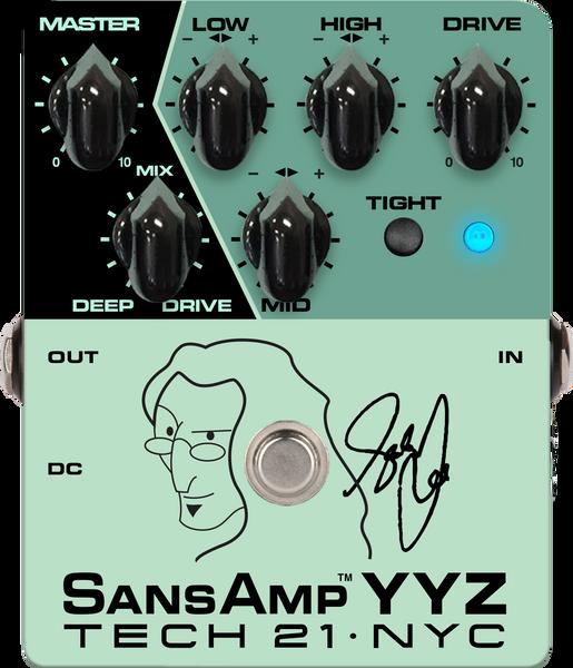 Tech 21 YYZ Geddy Lee Signature SansAmp YYZ Bass Pedal
