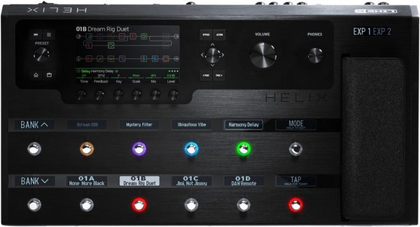 Line 6 Helix Flagship HX Guitar Effects Processor