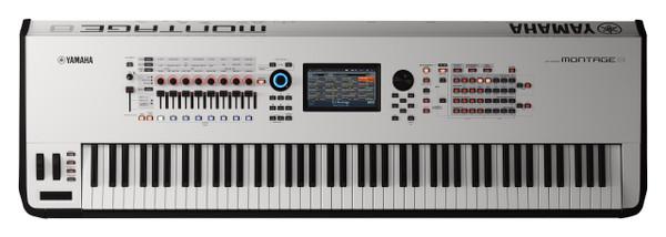 Yamaha Montage 8 88 weighted key White Flagship Synthesizer keyboard